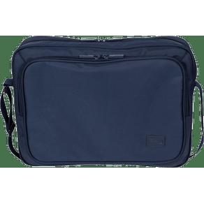 Pasta-Executiva-2-Compartimentos-Laptop-Easy-Azul-Marinho-Frente