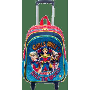 Mochilete-Grande-Super-Hero-Girls-19X-Colorido-Frente