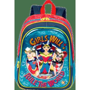 Mochila-Grande-Super-Hero-Girls-19X-Colorido-Frente