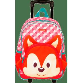 Mochilete-Media-Sestini-Kids-19Y-Fox-Colorido-Frente