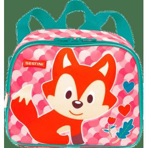 Lancheira-Pequena-2-em-1-Sestini-Kids-19Y-Fox-Colorido-Frente