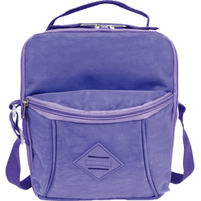 Lancheira-Pocket-Sestini-Lunch-Crinkle-Lilas-Frente