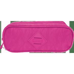 Estojo-2-Compartimentos-CRINKLE-Rosa-Frente