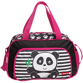 Sacola-Grande-Sestini-Kids-X-Panda-Colorido-Frente