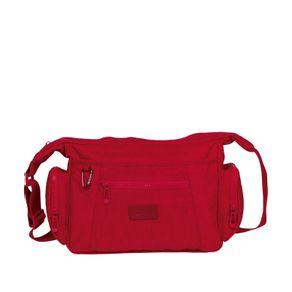 Bolsa-Carteiro-Classic-Crinkle-Vermelho