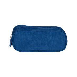 Estojo-2-Compartimentos-Paul-Frank-20T03-Azul-Marinho