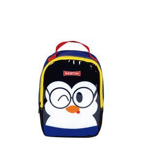 Lancheira-Pequena-Sestini-Kids-Basic-Pinguim-Colorido
