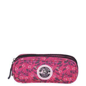 Estojo-2-Compartimentos-Paul-Frank-21T01-Floral-Rosa