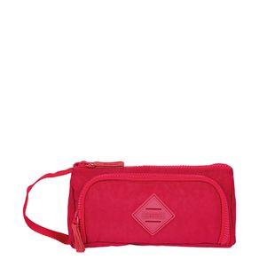 Estojo-Organizador-3-Compartimentos-Crinkle-Vermelho
